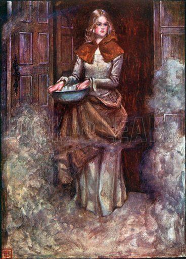 The Gospel Sprinkler. Illustration for The Pilgrim's Progress (Charles Scribner, c 1910).