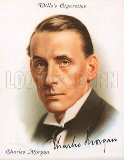 Charles Morgan. Illustration for Wills's Cigarette card.