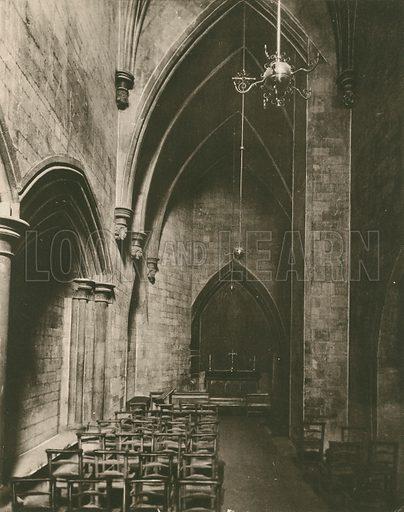St Faith's Chapel. Twenty-Four Gems of Westminster Abbey (The Graphotone, c 1890).