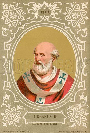 Urbanus II. Illustration in Romani Pontefici by Luigi Tripepi (Roma, 1879).