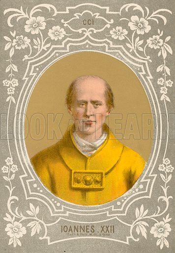 Ioannes XXII. Illustration in Romani Pontefici by Luigi Tripepi (Roma, 1879).