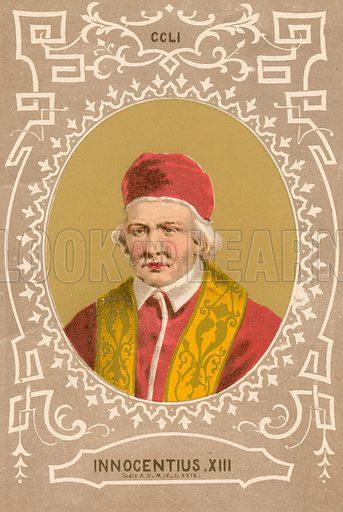 Innocentius XIII. Illustration in Romani Pontefici by Luigi Tripepi (Roma, 1879).
