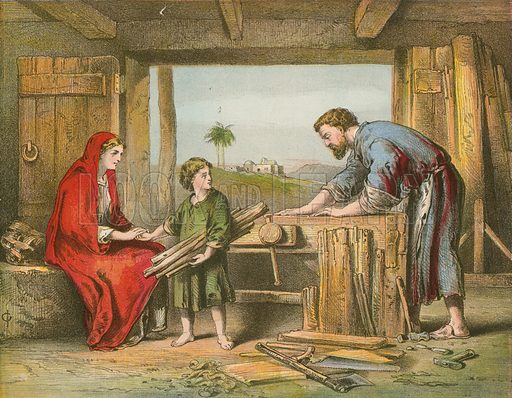 Jesus at home