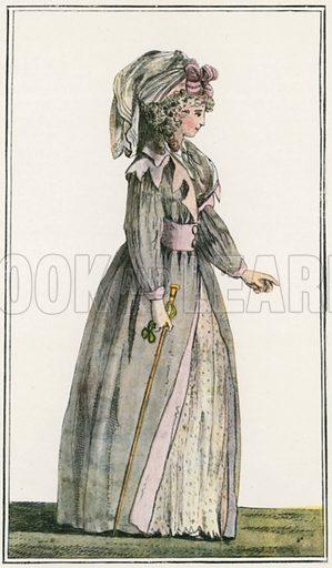 1788. Illustration for Dame Fashion (Sampson Low, 1913).