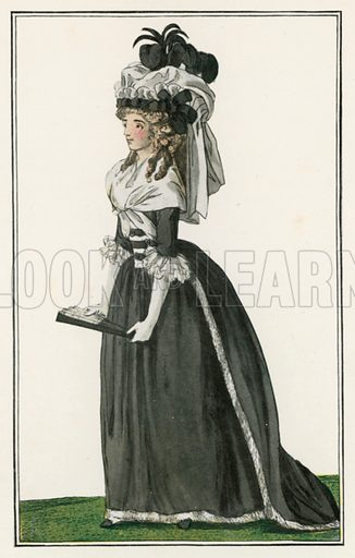 1787. Illustration for Dame Fashion (Sampson Low, 1913).