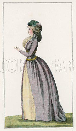 1794. Illustration for Dame Fashion (Sampson Low, 1913).