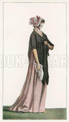 1797. Illustration for Dame Fashion (Sampson Low, 1913).