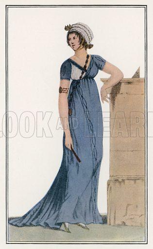 1799. Illustration for Dame Fashion (Sampson Low, 1913).