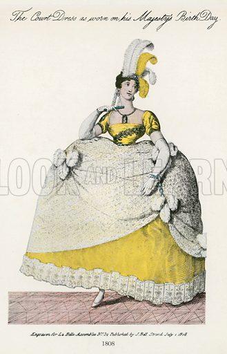 1808. Illustration for Dame Fashion (Sampson Low, 1913).