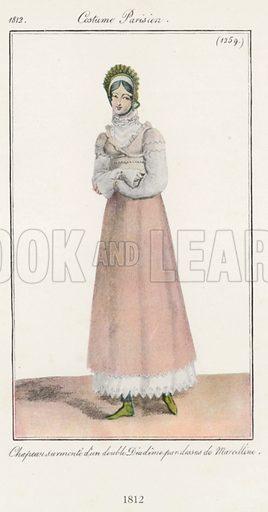 1812. Illustration for Dame Fashion (Sampson Low, 1913).
