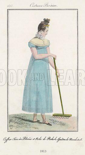 1813. Illustration for Dame Fashion (Sampson Low, 1913).