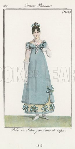 1815. Illustration for Dame Fashion (Sampson Low, 1913).