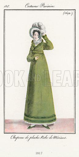 1817. Illustration for Dame Fashion (Sampson Low, 1913).