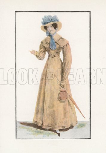 1822. Illustration for Dame Fashion (Sampson Low, 1913).