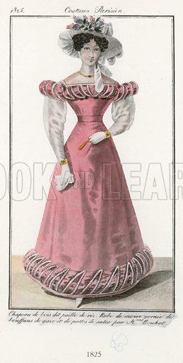 1825. Illustration for Dame Fashion (Sampson Low, 1913).