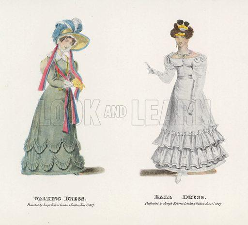 1827. Illustration for Dame Fashion (Sampson Low, 1913).