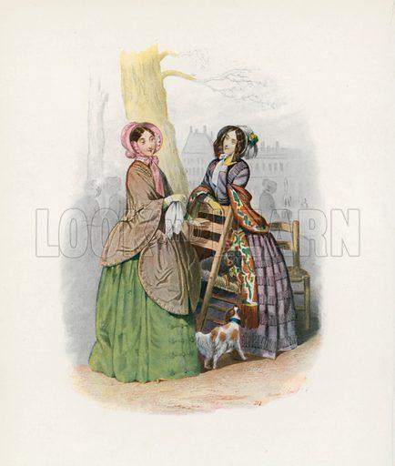 1848. Illustration for Dame Fashion (Sampson Low, 1913).