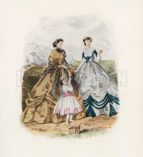 1865. Illustration for Dame Fashion (Sampson Low, 1913).
