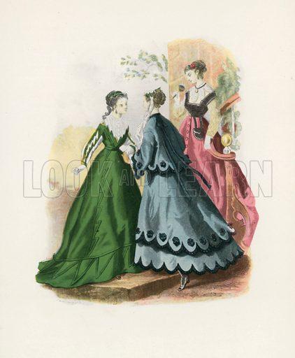 1867. Illustration for Dame Fashion (Sampson Low, 1913).