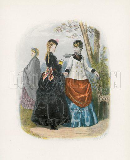 1869. Illustration for Dame Fashion (Sampson Low, 1913).