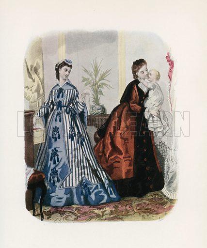 1871. Illustration for Dame Fashion (Sampson Low, 1913).