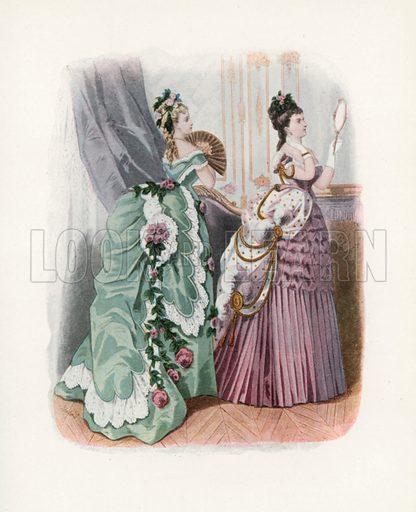 1874. Illustration for Dame Fashion (Sampson Low, 1913).