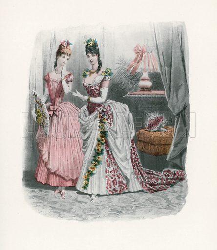 1886. Illustration for Dame Fashion (Sampson Low, 1913).