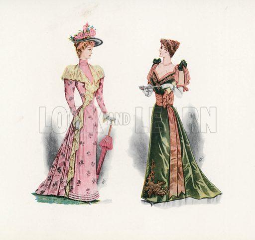 1892. Illustration for Dame Fashion (Sampson Low, 1913).