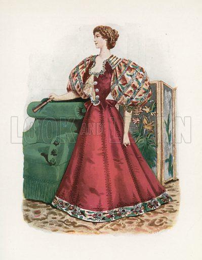 1896. Illustration for Dame Fashion (Sampson Low, 1913).