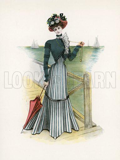 1898. Illustration for Dame Fashion (Sampson Low, 1913).