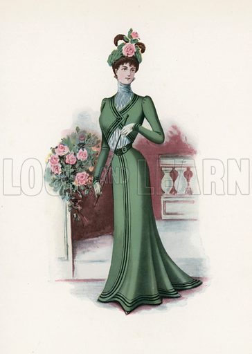 1899. Illustration for Dame Fashion (Sampson Low, 1913).