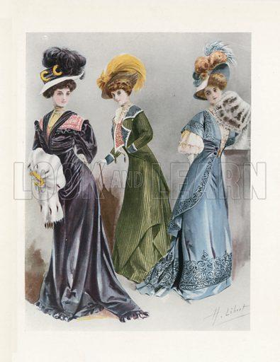 1908. Illustration for Dame Fashion (Sampson Low, 1913).