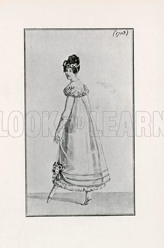 1818. Illustration for Dame Fashion (Sampson Low, 1913).