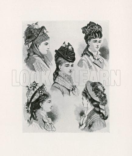 1875. Illustration for Dame Fashion (Sampson Low, 1913).