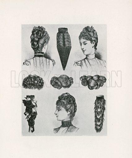 1887. Illustration for Dame Fashion (Sampson Low, 1913).
