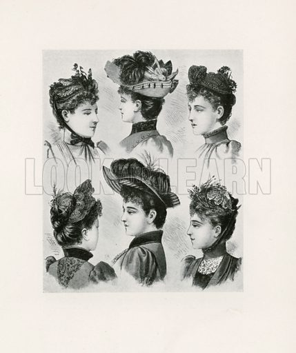 1891. Illustration for Dame Fashion (Sampson Low, 1913).