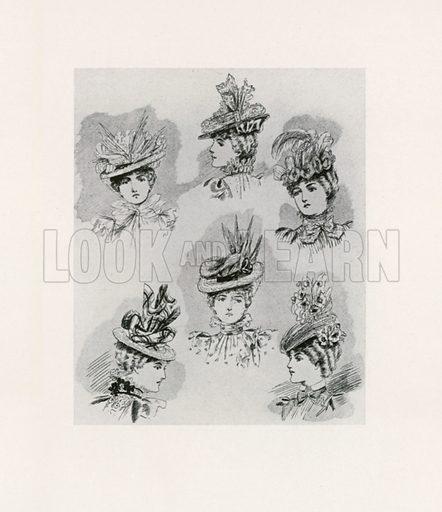 1897. Illustration for Dame Fashion (Sampson Low, 1913).