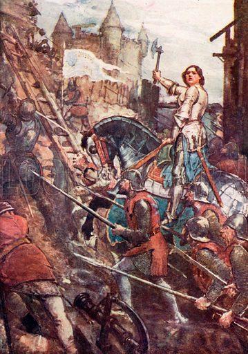 picture, William Rainey, artist, illustrator, painter, Joan of Arc