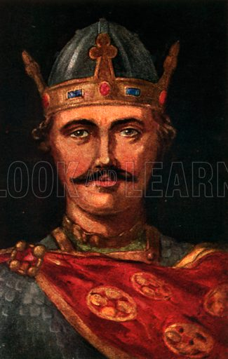 William I. Illustration for The Portrait Book of the Kings and Queens of Great Britain (Jack, c 1915).