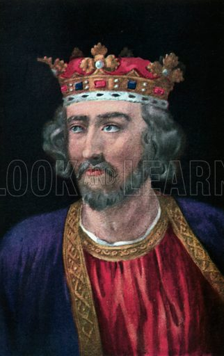 Edward I. Illustration for The Portrait Book of the Kings and Queens of Great Britain (Jack, c 1915).