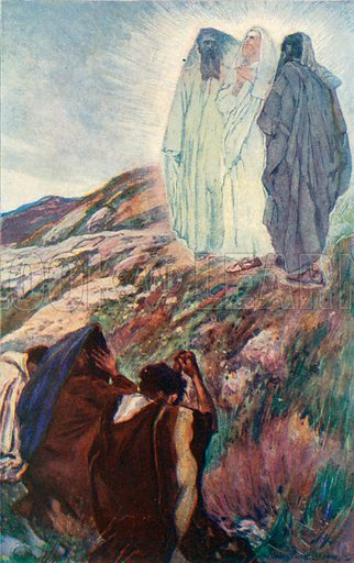 The Transfiguration. Illustration for The Life of the Master (Hodder and Stoughton, 1901).