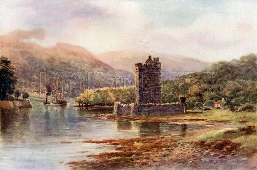 Narrow Water Castle, Carlingford Lough. Illustration for Beautiful Ireland (Gresham, c 1905).