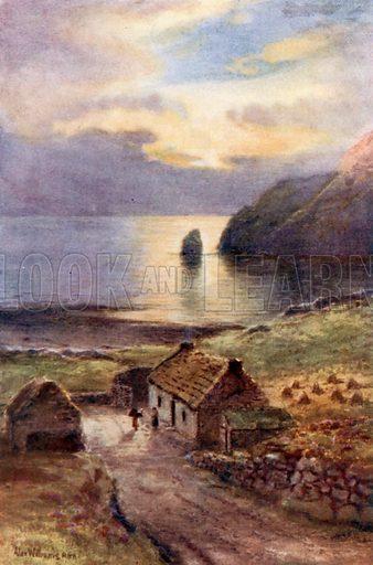 Muckross Bay, Killybegs, Donegal. Illustration for Beautiful Ireland (Gresham, c 1905).