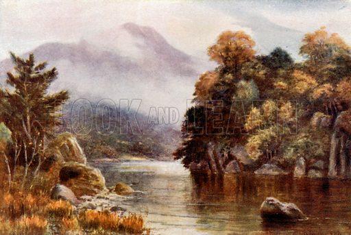 Muckross Lake, Killarney. Illustration for Beautiful Ireland (Gresham, c 1905).