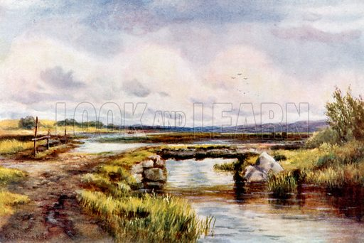 Lowlands, Ballinlough, Roscommon. Illustration for Beautiful Ireland (Gresham, c 1905).