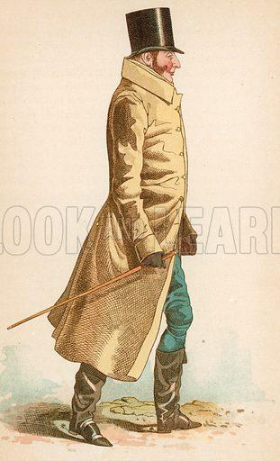 Duke of Gloucester. Illustration for The Life of George Brummell by Captain Jesse (Nimmo, 1886).