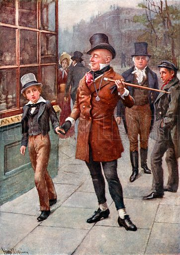 Mr Micawber conducts David home