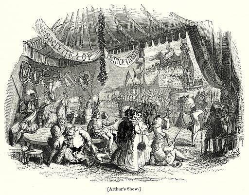 Arthur's Show. London edited by Charles Knight (Virtue, c 1880).
