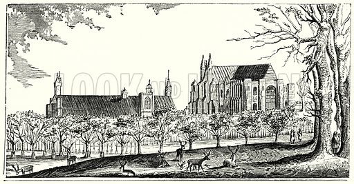 St James' Park. London edited by Charles Knight (Virtue, c 1880).