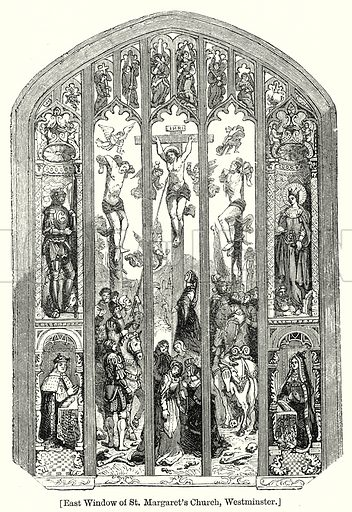 East Window of St. Margaret's Church, Westminster. London edited by Charles Knight (Virtue, c 1880).